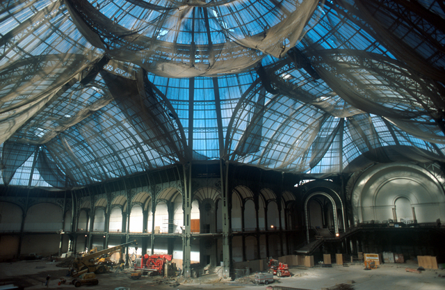 Restauration des fondations du Grand Palais, 2001-2003, Paris - ©photothèque Soletanche Bachy Restauration des fondations du Grand Palais, 2001-2003, Paris - ©photothèque Soletanche Bachy